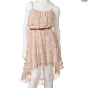 Lily rose pink Lacey dress